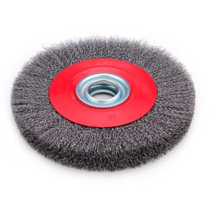 Round Steel Wire Brush for Cleaning Machine