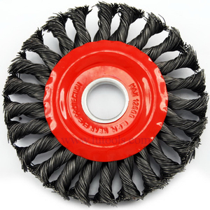 Circular Knotted Twist Wire Brush