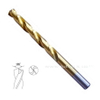 Titanium Coated HSS Straight Shank Twist Drill Bits